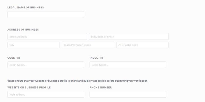 Bitpay get verified