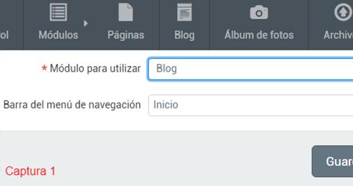 Blog anadir entrada 1