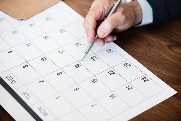 Calendario reservas emiweb