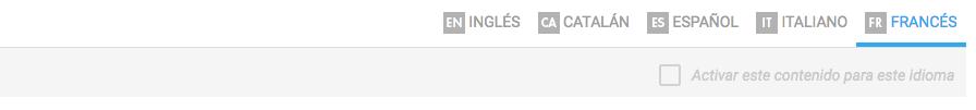 idiomas web
