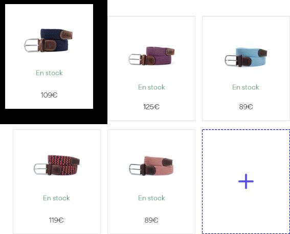 Crear un catálogo de productos