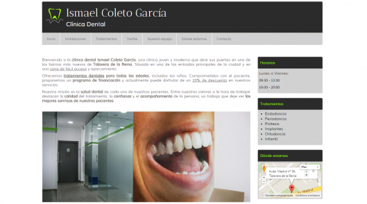 Clinica dental ismael coleto