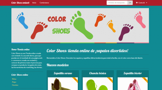 Colorshoes demo