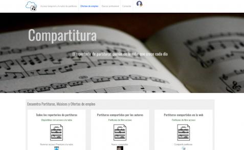 Compartitura repertorio musicos