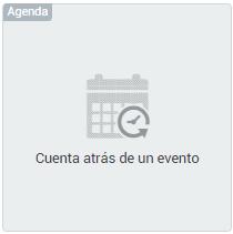 Cuenta atras evento widget