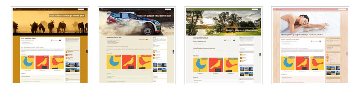 Plantillas gratis diseño web