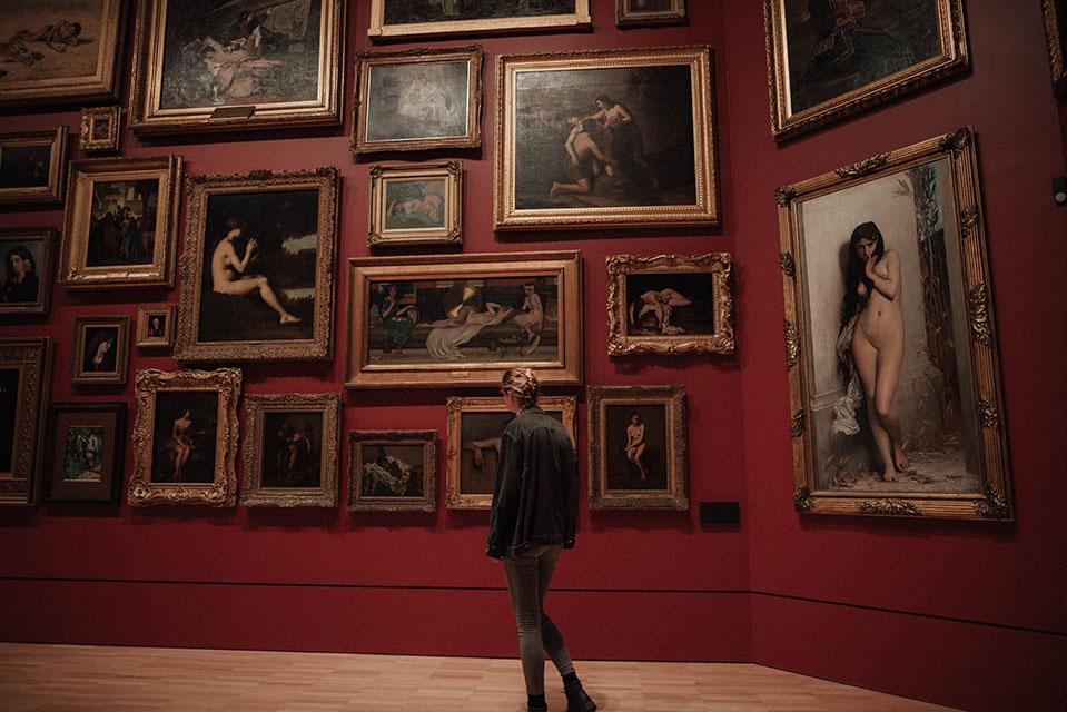 Diseno web inspiracion museo