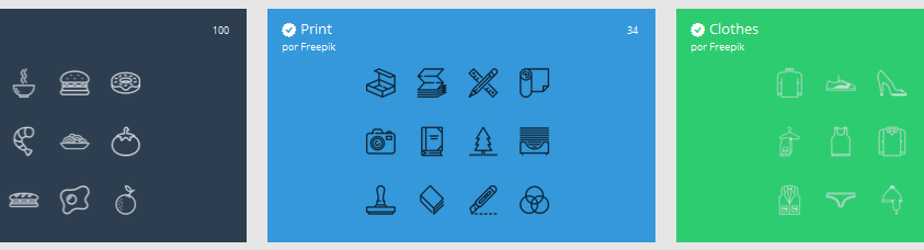 Flaticon icons