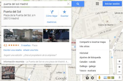Maps html