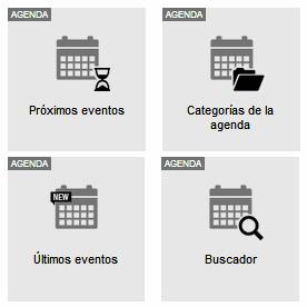 Modulo agenda widgets