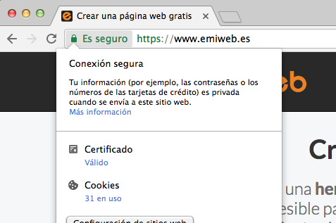 Paginasegura ssl