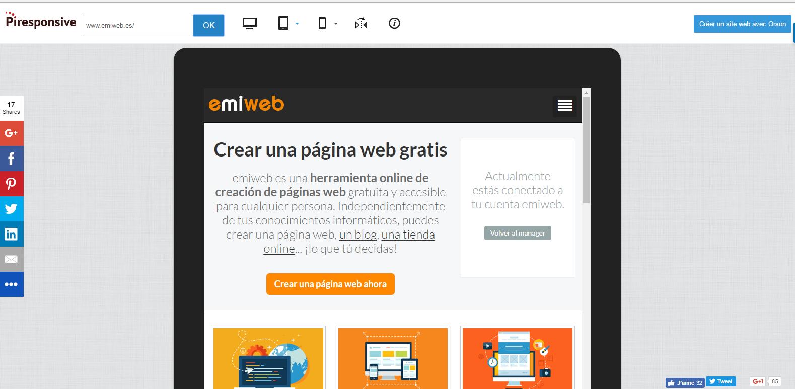 Piresponsive emiweb responsive