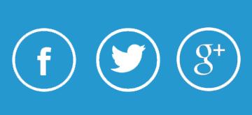 Redes sociales iconos