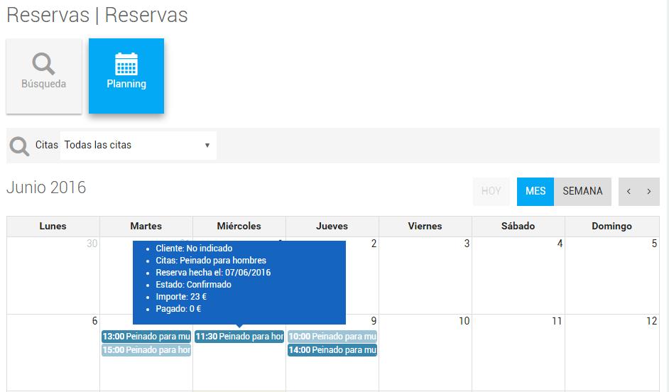reserva calendario