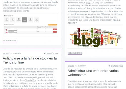 Seguir leyendo blog