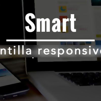 Smart una plantilla mobile first