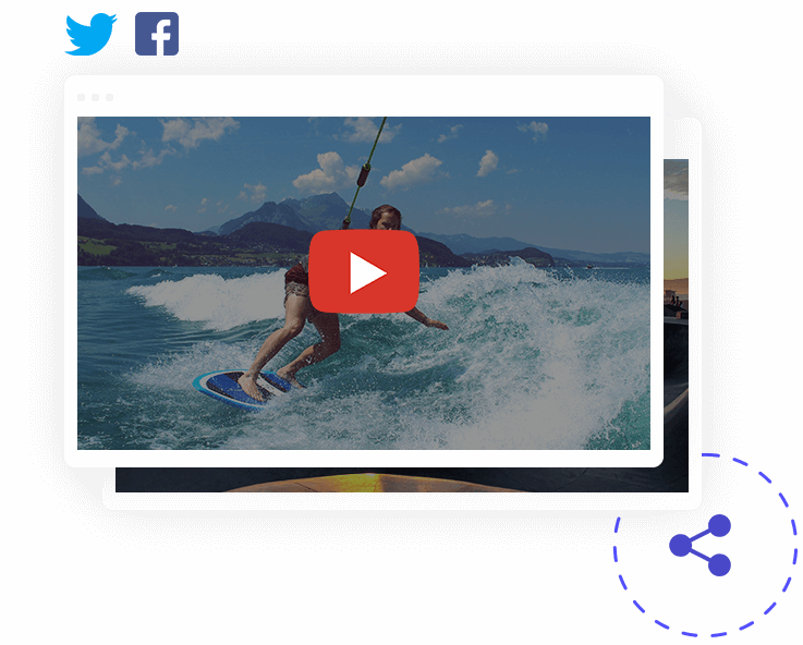 Comparte tus videos
