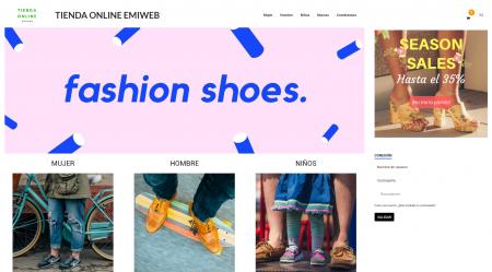 Tienda online emiweb