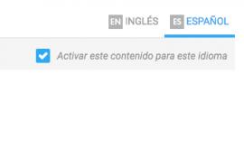 Traducir el contenido