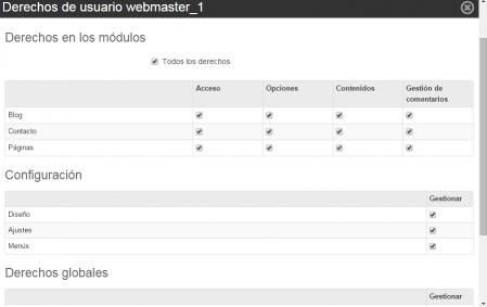Webmasters derechos