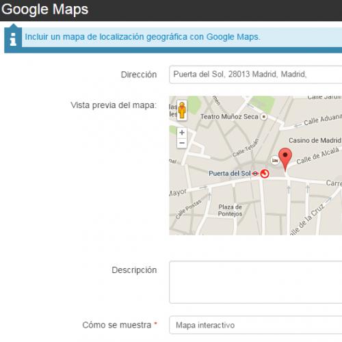 Widget maps