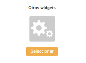 Widget pagina seleccionar